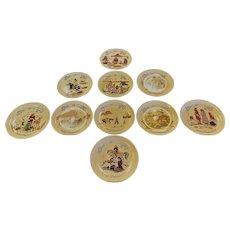 Kay Malleck Navajo Christmas Plates