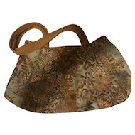 Batik Purse Tote Bag