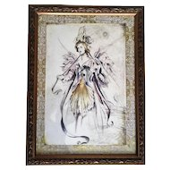 Bombay Company Framed Fairy Print Set