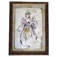 Bombay Company Framed Fairy Print Set
