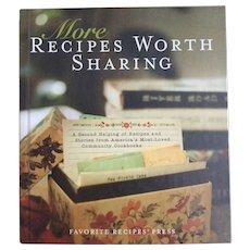 More Recipes Worth Sharing