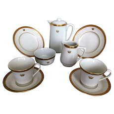 Helmsley Hotel Coffee/Tea Set by Mayer China