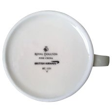 Royal Doulton British Airways Coffee Cup