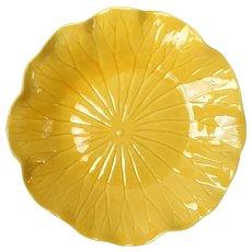 Metlox Poppytrail Lotus Bright Yellow Salad Plate