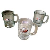 A & W Child Size Mugs Papa Burger