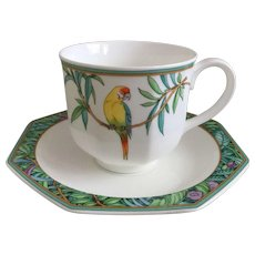 Villeroy & Boch Amazona Cup and Saucer