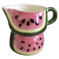 Watermelon Creamer & Sugar
