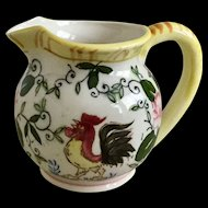 PY Ucagco Early Provincial Rooster Creamer