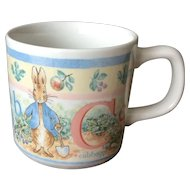 Peter Rabbit ABC Wedgwood Children's Mug