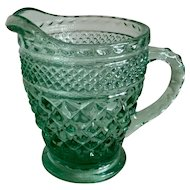 Anchor Hocking Wexford Creamer Green