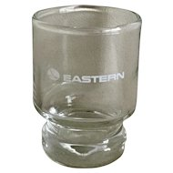 Vintage Eastern Airlines Cordial Glass