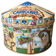 Hershey Park Hometown Series Carousel Tin