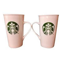 Starbucks Mermaid / Siren 16oz Mug Set