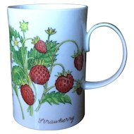 Dunoon Nature's Fruit Richard Partis Strawberry Blackberry Mug