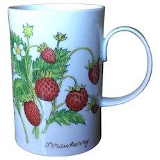 Dunoon Nature's Fruit Richard Partis Strawberry Blackberry Mug