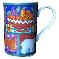 Dunoon Winter Wonderland Jane Brookshaw Mug