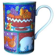 Dunoon Winter Wonderland Jane Brookshaw Whimsical Mug