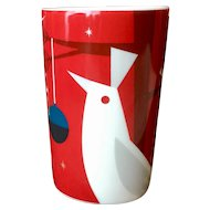 Starbucks Holiday Red Mug with Bird