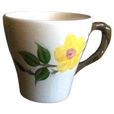 Franciscan Meadow Yellow Rose Mug