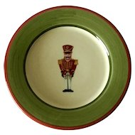 "Christopher Radko ""Christopher's Tree"" Soldier Salad Plate by Zrike"