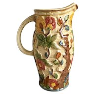 H J Wood Indian Tree Pitcher