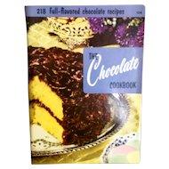Culinary Arts Institute Chocolate Cookbook