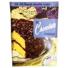 Culinary Arts Institute Chocolate Cookbook
