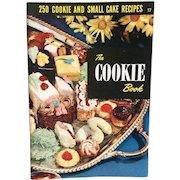 Culinary Arts Institute Cookie Recipe Cookbook Booklet