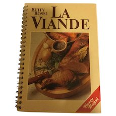Betty Bossi La Viande Cookbook - Meat Recipes - French Language Copy
