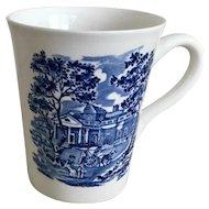 Staffordshire Liberty Blue Mug