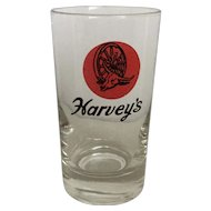 Harvey's Top of the Wheel Cocktail Glass