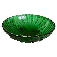 Anchor Hocking Burple Green Large Serving Fruit Bowl