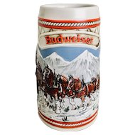 1985 Budweiser A Series Beer Stein