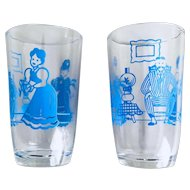 Bustling Betty Swanky Swig Juice Glass Set