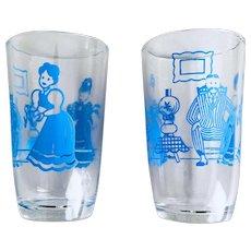 Bustling Betty Swanky Swig Juice Glass Set