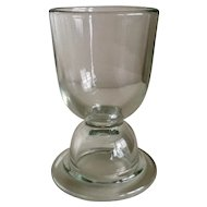 Vintage Glass Double Egg Cup
