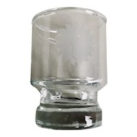 National Airlines First Class Shot / Cordial Glass