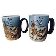 Spanish Bullfighting Mug Set