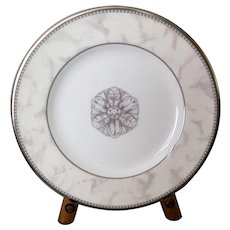 Royal Doulton Naples Platinum Bread Plate Set