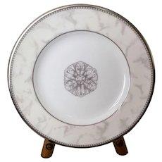 Royal Doulton Naples Platinum Bread Plate Set