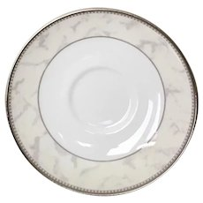 Royal Doulton Naples Platinum Saucer Set