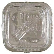 Vintage Federal Glass Refrigerator Dish