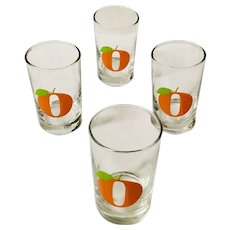 Libbey Orange Juice Glass Set