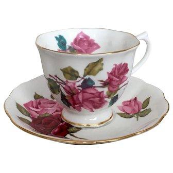 Royal Albert Rose Cup & Saucer