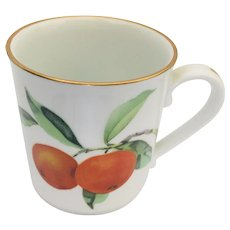 Royal Worcester Evesham Gold Mug
