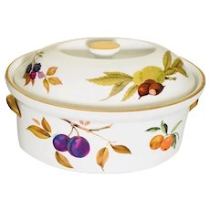 "Royal Worcester Evesham Gold 10 1/4"" Casserole"