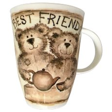 Roy Kirkham Best Friends Bear Mug