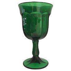 Viking Glass Arlington Green Water Goblet