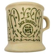 Jack Daniel's Mustache Mug Old No 7 Daniels Logo