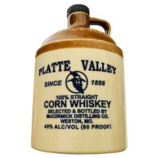McCormick Platte Valley Corn Whiskey Jug